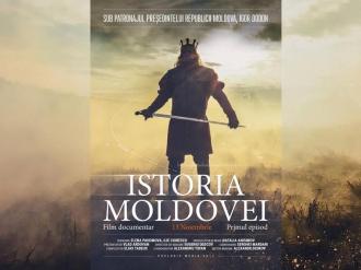 """Documentarul """"Istoria Moldovei"""" va vedea lumina ecranelor la 13 noiembrie"""