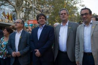 """Puigdemont cere UE să nu mai susţină """"lovitura de stat"""" împotriva Cataloniei: Nu vom renunţa la idealul unui stat independent"""