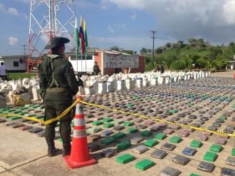 Cea mai mare captură de droguri din istoria Columbiei: 12 TONE de cocaină