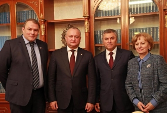 Până la sfârșitul anului 2017, la Moscova va avea loc ședinta Grupului Interparlamentar de prietenie Moldova - Rusia
