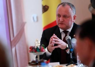 Igor Dodon s-a întâlnit cu ambasadori acreditaţi în Republica Moldova, cu reşedinţa la Moscova