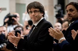 Carles Puigdemont vorbeşte pentru prima dată despre o