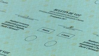 A început tipărirea buletinelor de vot pentru Referendumul din 19 noiembrie