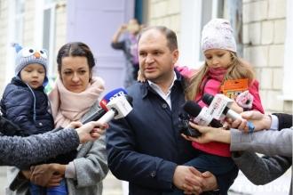 Ion Ceban: Am votat pentru un Chișinău frumos și confortabil