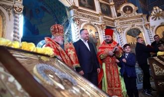 Dodon: Găgăuzia demonstrează întregii Moldove cum trebuie să fie păstrată credinţa strămoşească
