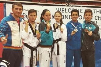 Moldova a cucerit cinci medalii la turneul de taekwondo Israel Open G1