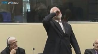 Un criminal de război a băut otravă în timpul unei şedinţe a Tribunalului Penal Internaţional