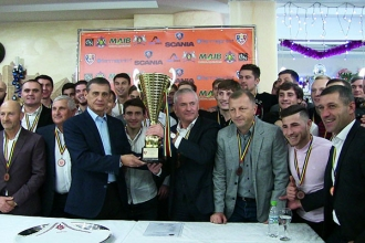 Petrocub a fost premiată pentru locul 3