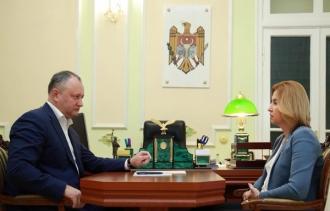 Igor Dodon: Legile cu privire la Găgăuzia trebuie să fie adoptate în forma în care au fost elaborate de grupul de lucru, fără modificări suplimentare