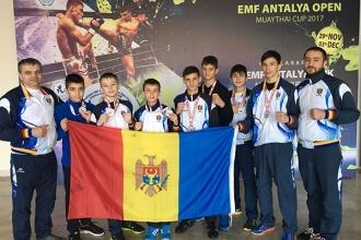 Moldova a cucerit patru medalii de aur și două de bronz la Cupa Europei la Muaythai
