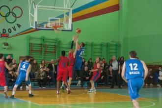Basco Bălți este noul lider al campionatului național de baschet
