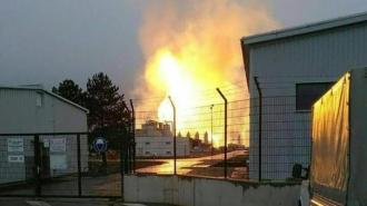 Explozie majoră la un terminal de gaze naturale în apropiere de Viena: Cel puţin un mort şi 18 răniţi/ Accesul în zonă, restricţionat