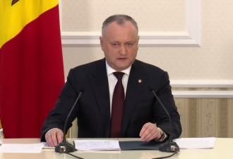 Dodon: Vom reuși să rezistăm, ne vom întări și vom obține victorie în toate marile bătălii politice care se vor da în 2018