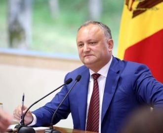 Igor Dodon: Singura instituție a statului care nu este controlată de oligarhi este Președinția