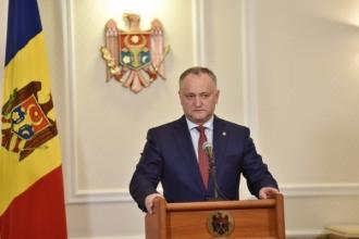 Igor Dodon: Există un blocaj total la nivel de Guvern în relațiile moldo-ruse