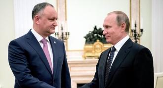 Igor Dodon, invitat de Vladimir Putin pentru a participa la summit-ul informal al șefilor statelor-membre ale CSI