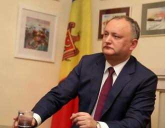 Igor Dodon, politicianul numărul unu în ratingul încrederii cetățenilor țării
