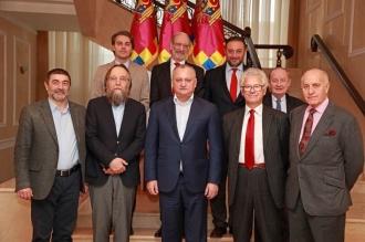 Reprezentanți ai comunității academice din Europa occidentală și Rusia, la discuții cu Igor Dodon