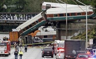 Trei morţi în accidentul unui tren în nord-vestul Statelor Unite