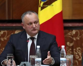"""Șeful statului a întors Parlamentului așa-numita """"lege anti-propagandă rusă"""""""