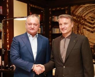Dodon: Economia moldovenească nu se poate dezvolta fără o colaborarea plenară cu Federaţia Rusă