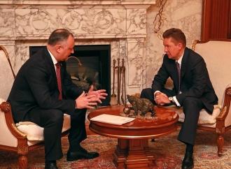 Moldova ar putea benefecia de o reducere de 15 la sută la gazele livrate de Gazprom