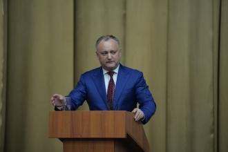 Igor Dodon: La următoarele alegeri parlamentare este obligatoriu să învingă poporul