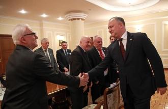 Igor Dodon apreciază înalt rezultatele pe care le-a obținut Autonomia Găgăuză împreună cu Irina Vlah