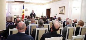 Reprezentanţii societăţii civile din Transnistria, la discușții cu Preeșdintele țării