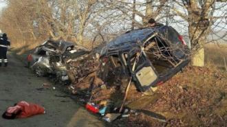 Cinci morți și doi răniți, într-un accident la Anenii Noi