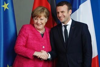 Reuniune Merkel - Macron vineri la Paris, consacrată viitorului Europei