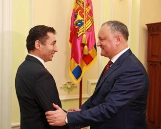 Relațiile moldo-azere, discutate de Igor Dodon și Ambasadorul Republicii Azerbaidjan în RM