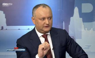 Igor Dodon: Decizia CC de a mă suspenda la subiectul legii propagandei este motiv de cauză penală