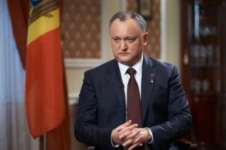 Dodon: Fără o cooperare cu partenerii tradiționali, Moldova nu va putea supraviețui