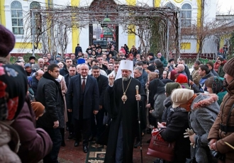 Igor Dodon a participat la festivitățile prilejuite de Hramul orașului Comrat