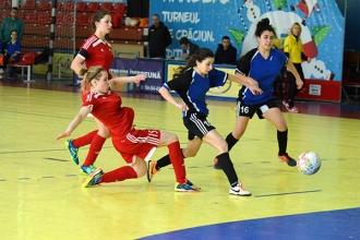 S-a dat startul campionatului Moldovei la futsal feminin