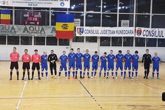 Naționala de futsal a pierdut ambele meciuri contra României