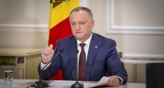 Igor Dodon: Prietenia cu Rusia nu este un obstacol pentru relaţiile Republicii Moldova cu Occidentul