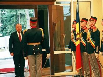Președintele Moldovei a primit scrisorile de acreditare din partea a trei ambasadori agreați