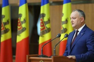 Dodon: Economia Moldovei are nevoie de investiții și din Occident, și din Răsărit