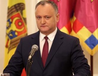 Șeful statului: Orice acţiuni orientate spre lichidarea Moldovei, vor primi un răspuns pe potrivă din partea cetăţenilor