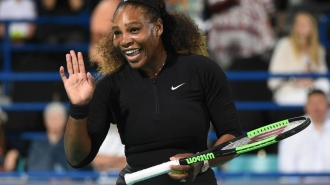 Serena Williams revine oficial pe teren