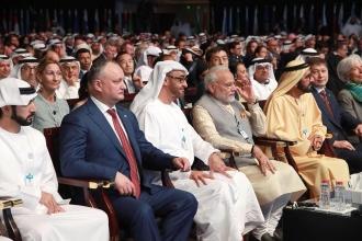 Igor Dodon, prezent la Summit-ul Mondial Guvernamental