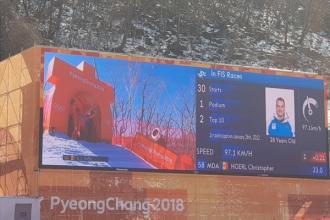 Christopher Hoerl a debutat la PyeongChang