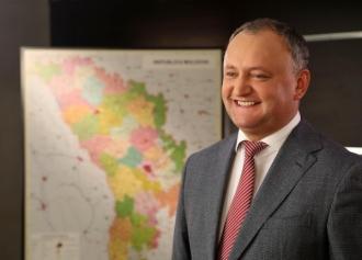 Președintele țării, Igor Dodon își sărbătorește ziua de naștere