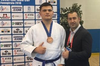 Judocanul Alin Bagrin a obținut bronzul la Cupa Europei printre cadeți