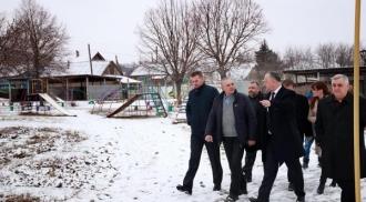 Igor Dodon, în vizită în raionul Cahul