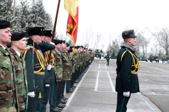 """Brigada 3 Infanterie Motorizată """"Dacia"""", decorată cu Ordinul """"Credință Patriei"""""""