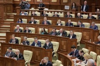 Socialiștii au părăsit sala de ședințe a Parlamentului