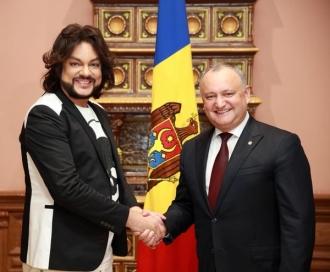Filip Kirkorov, la discuții cu Președintele țării